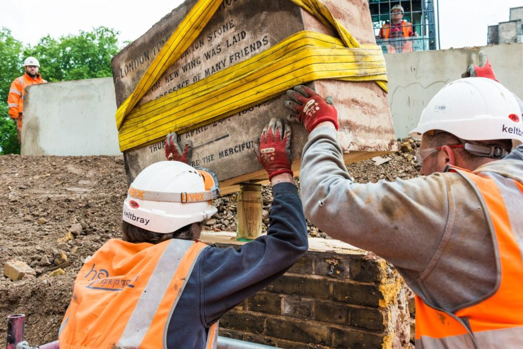 Time Capsules discovered at National Temperance Hospital by HS2 workers