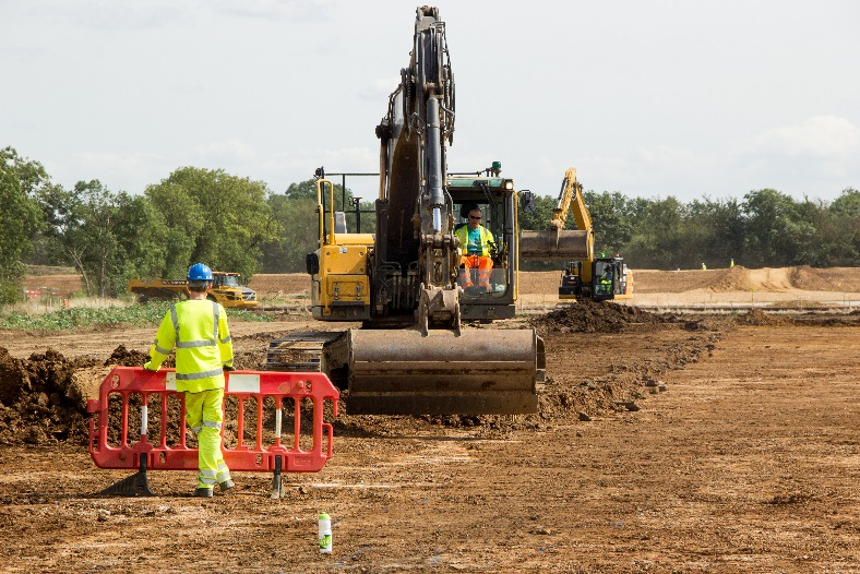 More than 40 separate excavations are to be completed by summer 2018 on A14C2H (c) A14C2H courtesy of MOLA Headland Infrastructure