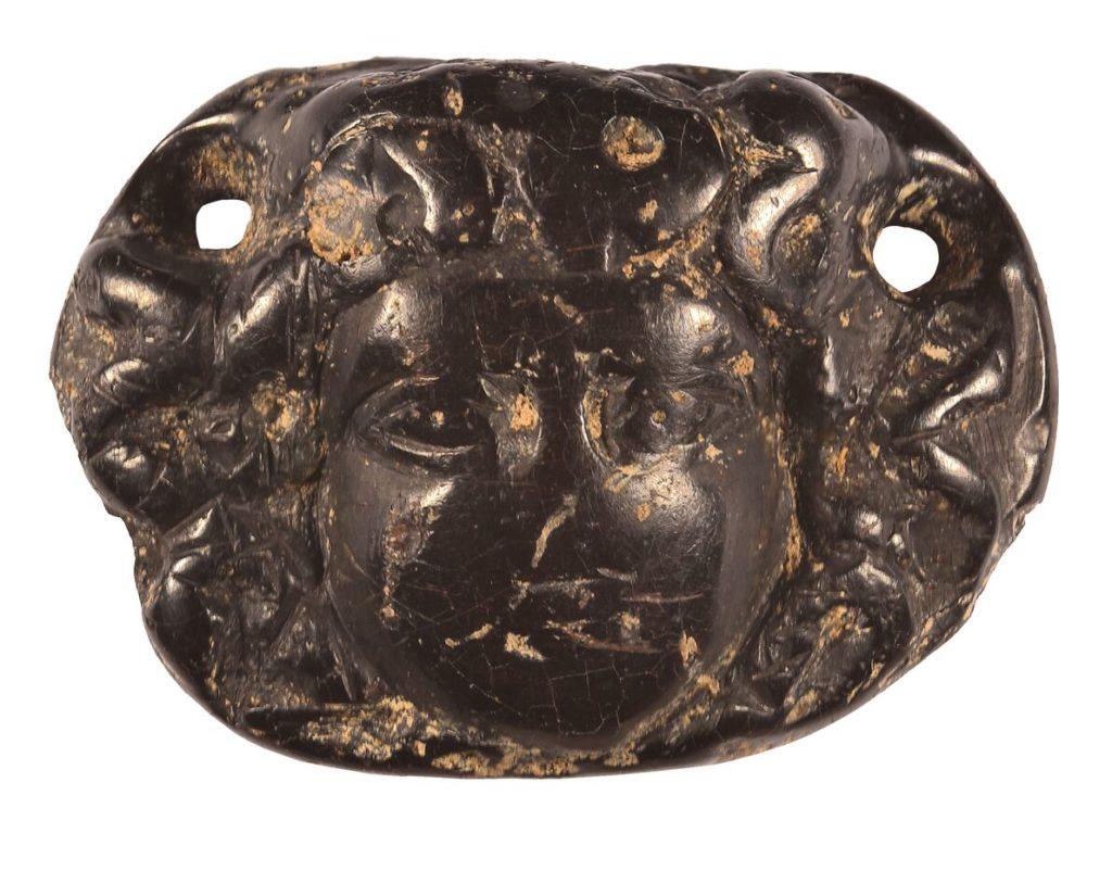 Roman jet Medusa head (c) Highways England, courtesy of MOLA Headland Infrastructure_preview