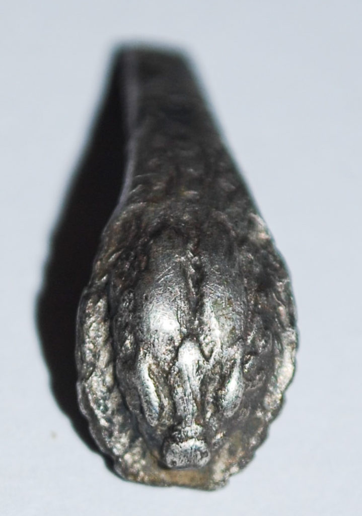 Roman silver bracelet known as an armilla with snake or boar head (c) A14C2H courtesy of MOLA Headland Infrastructure