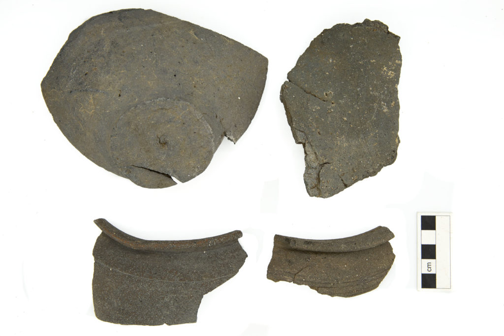 ragments of pot waster found in association with local early-Roman kilns (c) Highways England, courtesy of MOLA Headland Infrastructure