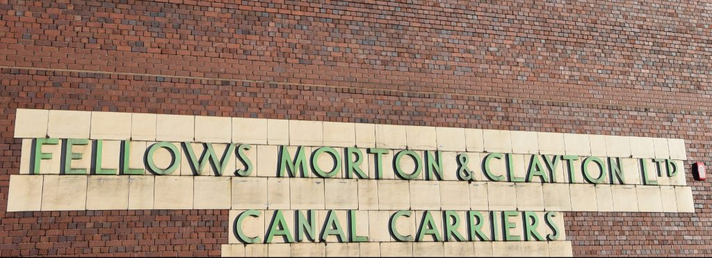 Canal carrier Fellows, Morton & Clayton ran express barges to London from their Digbeth warehouse