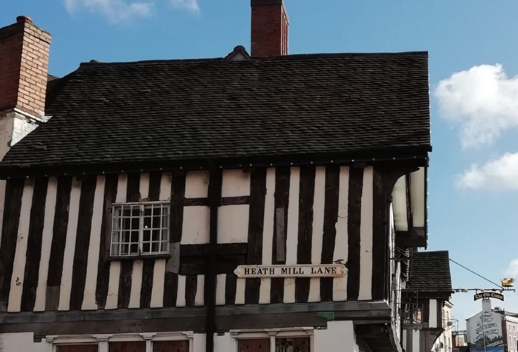 The Old Crown Inn, the oldest building in central Birmingham